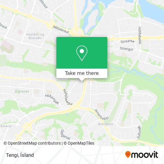 Tengi map