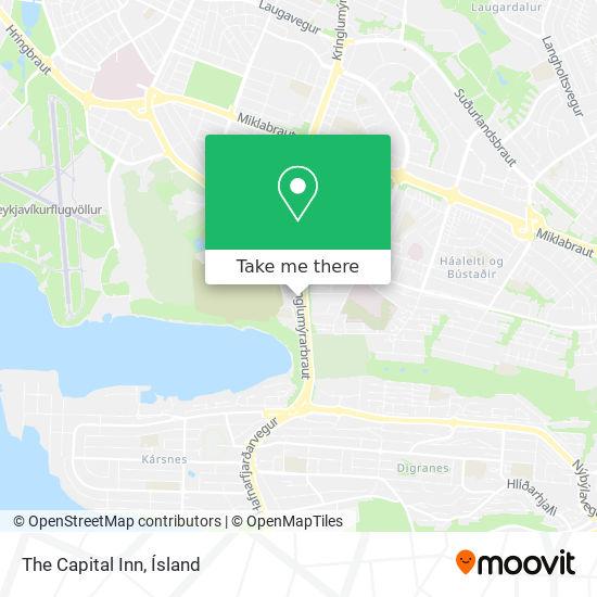 The Capital Inn map