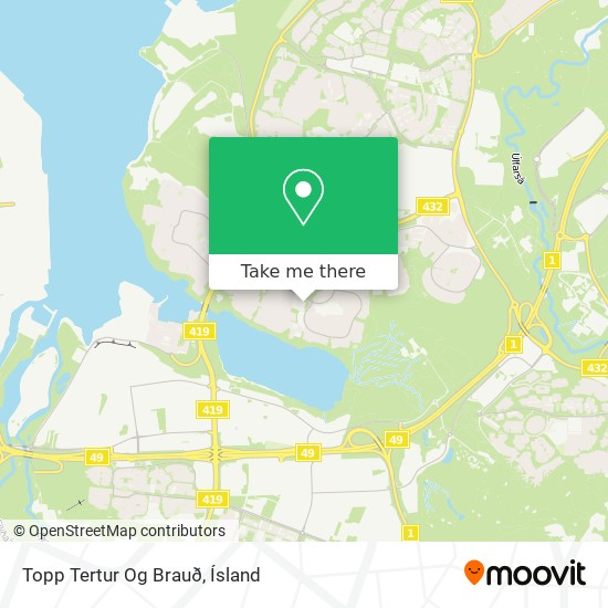 Mapa Topp Tertur Og Brauð