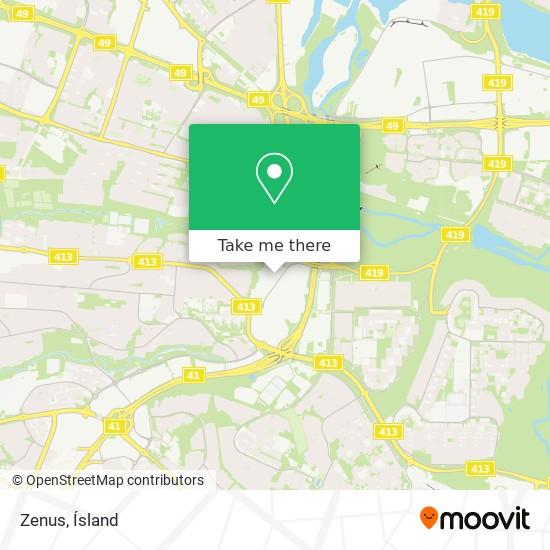Zenus map