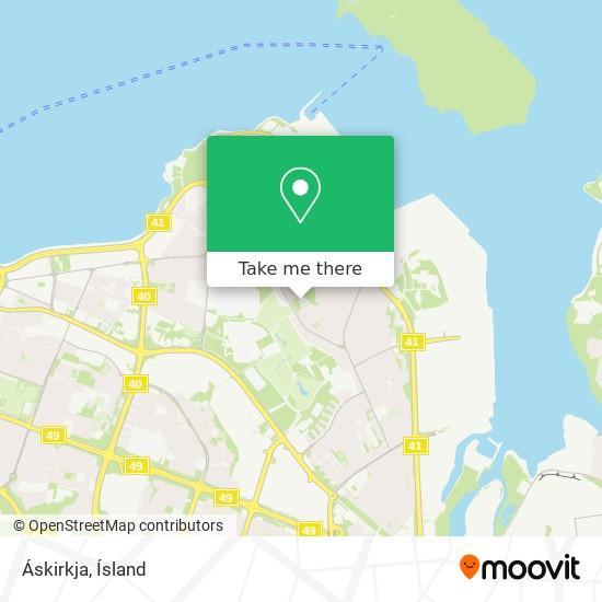 Áskirkja map