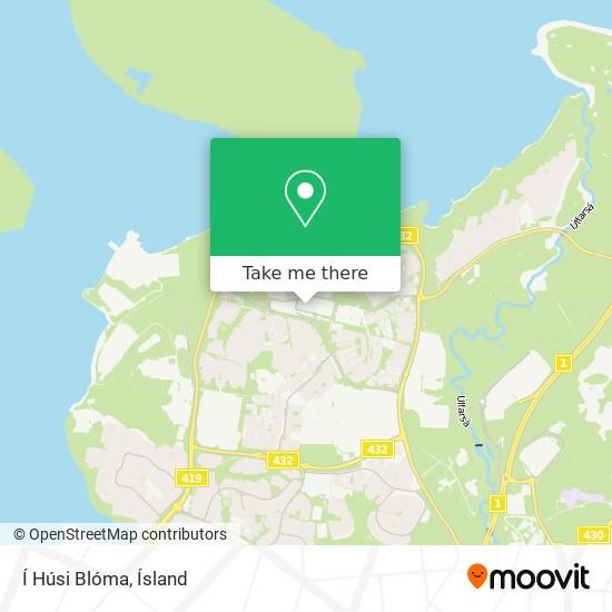 Í Húsi Blóma map