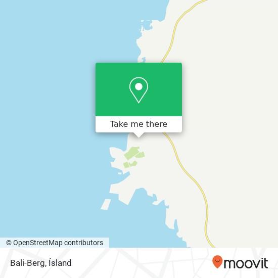 Bali-Berg map