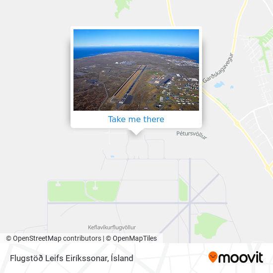 Flugstöð Leifs Eiríkssonar map