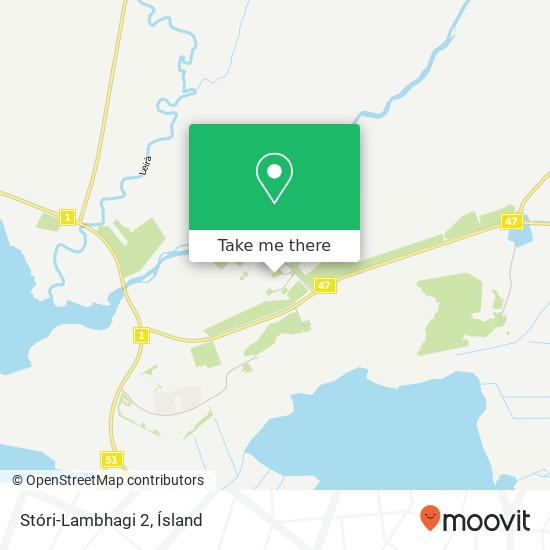 Stóri-Lambhagi 2 map
