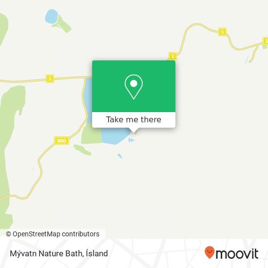 Mývatn Nature Bath map
