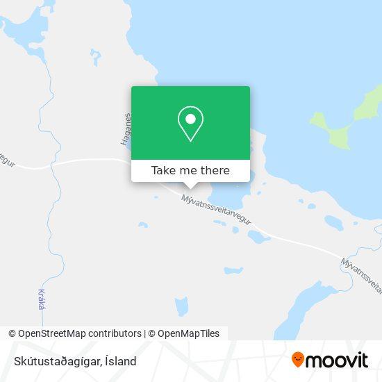 Skútustaðagígar map