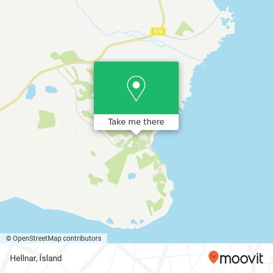 Hellnar map