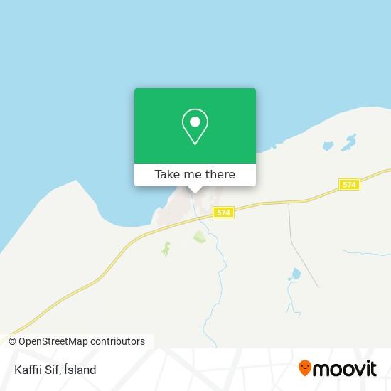 Kaffii Sif map