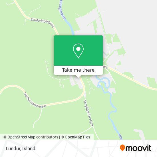 Lundur map