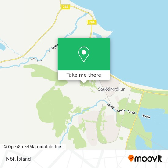Nöf map