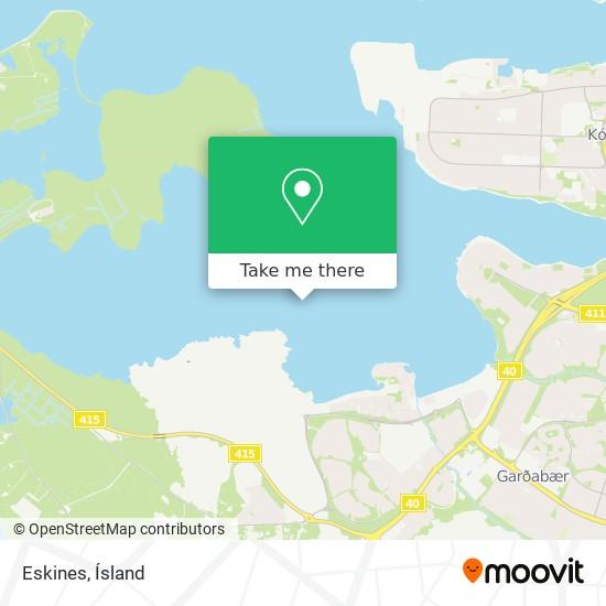 Eskines map