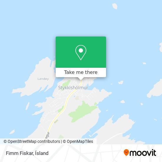 Fimm Fiskar map