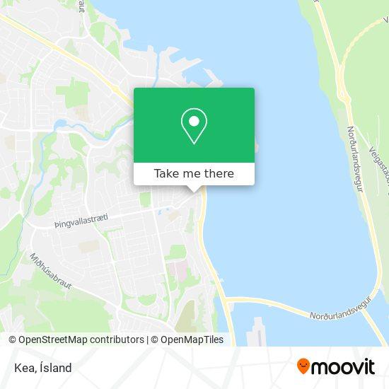Kea map