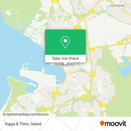 Sigga & Timo map