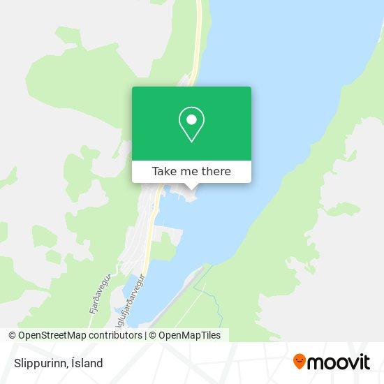 Slippurinn map