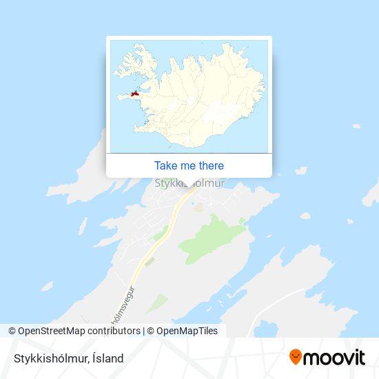 Stykkishólmur map