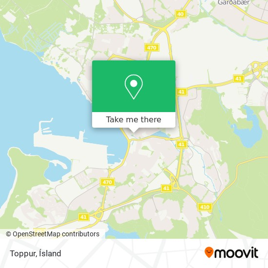 Toppur map