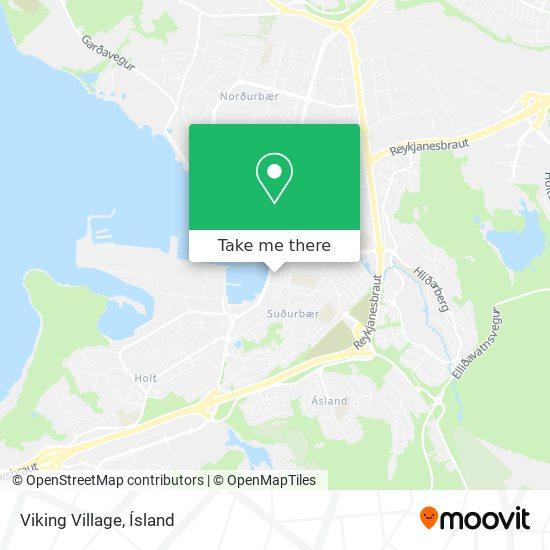 Viking Village map