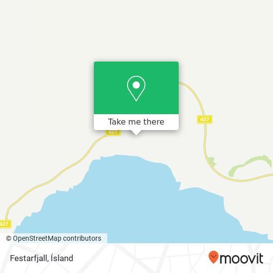 Festarfjall map