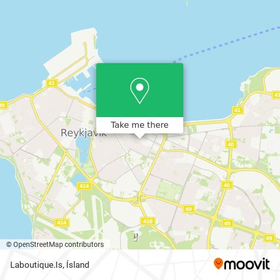 Laboutique.Is map