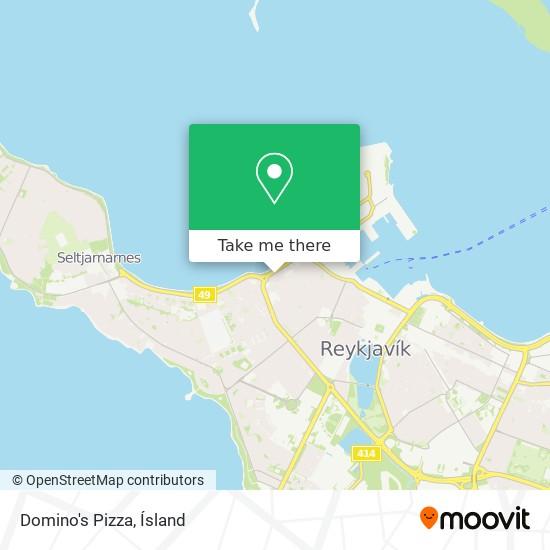 Wilson's Pizza map