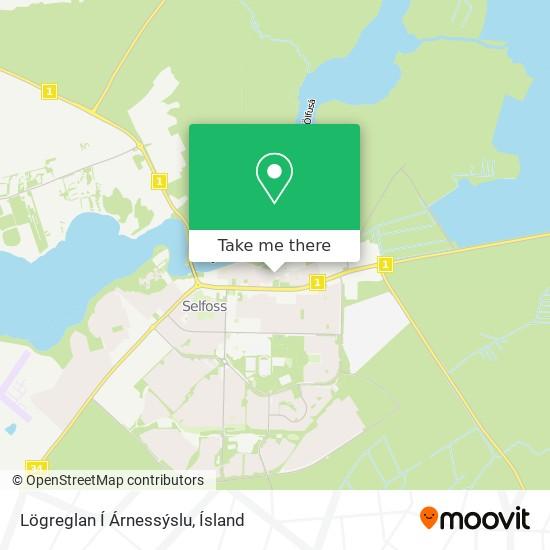 Lögreglan Í Árnessýslu map