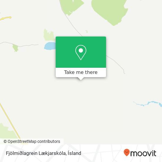 Fjölmiðlagrein Lækjarskóla map