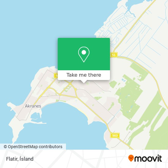Flatir map