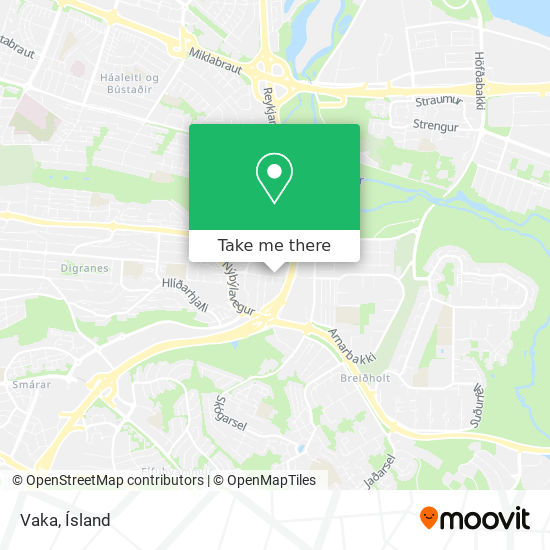 Vaka map