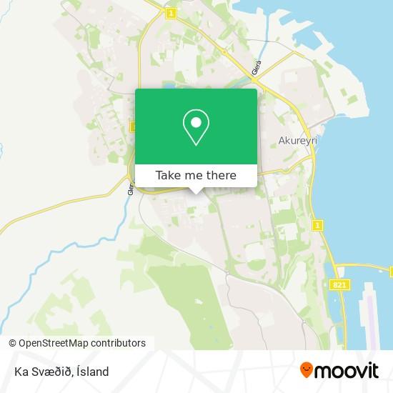 Ka Svæðið map