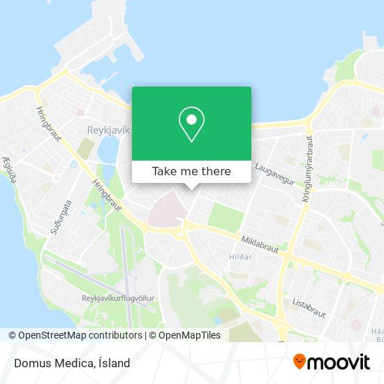Domus Medica map