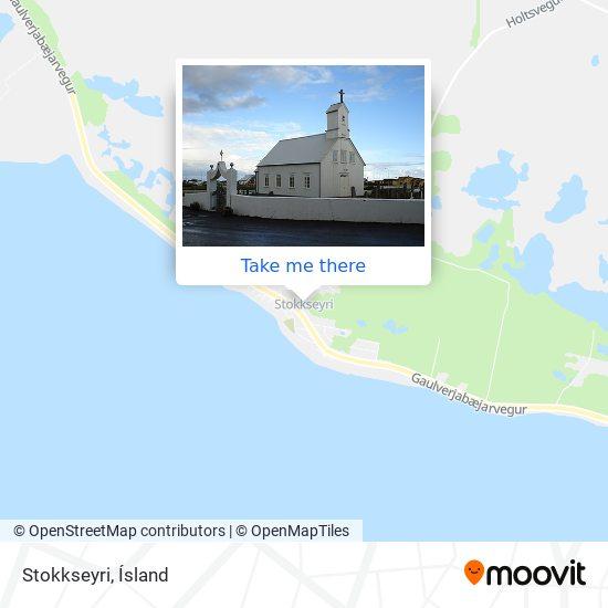 Mapa Stokkseyri