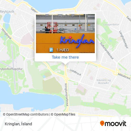 Kringlan map