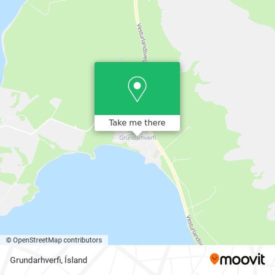 Grundarhverfi map
