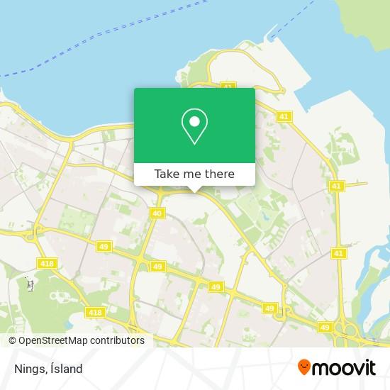 Nings map