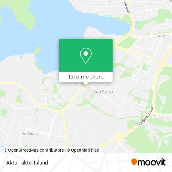 Aktu Taktu map