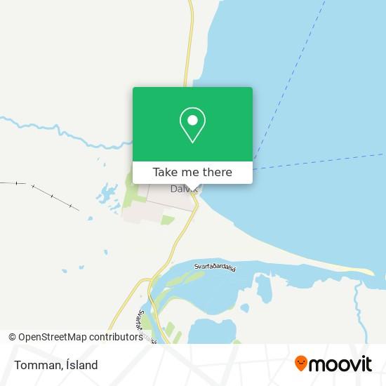 Tomman map