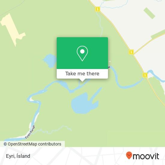 Eyri map