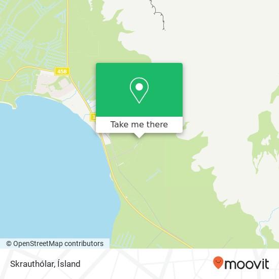 Skrauthólar map