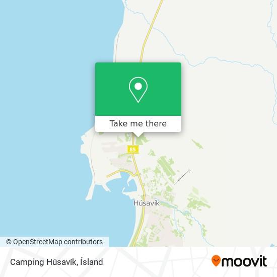 Camping Húsavík map