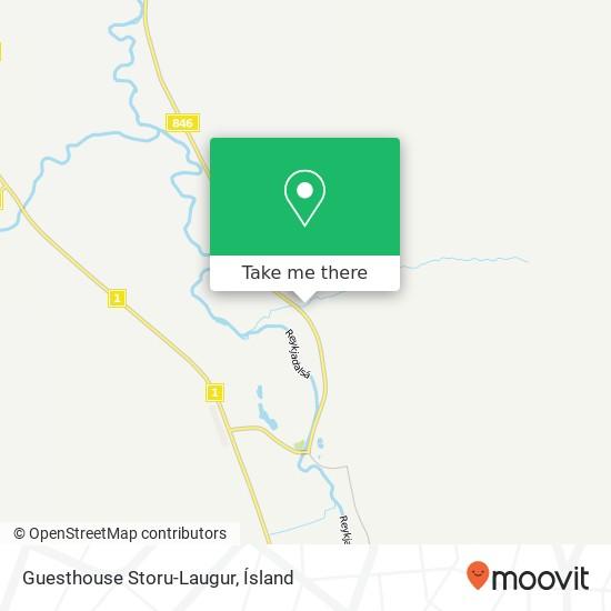 Guesthouse Storu-Laugur map