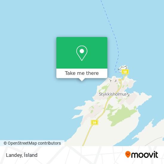 Landey map