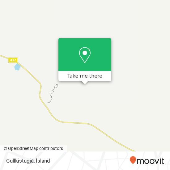 Gullkistugjá map