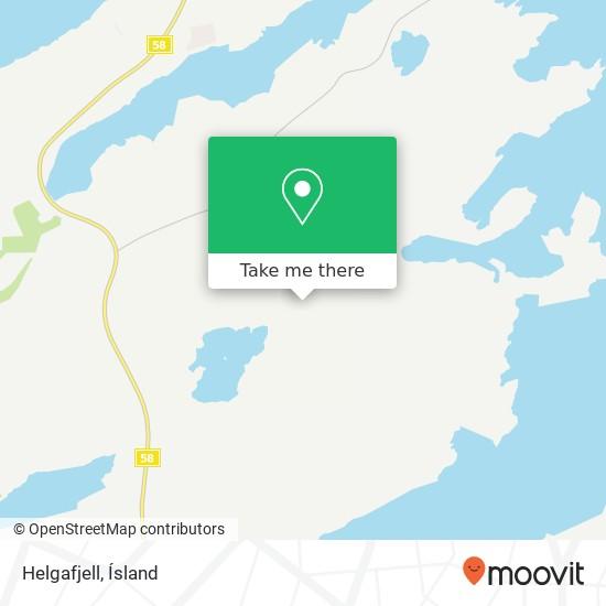 Helgafjell map