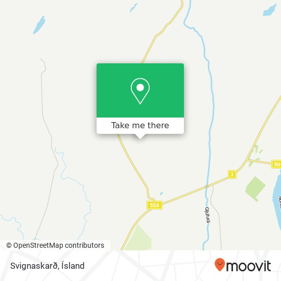 Mapa Svignaskarð