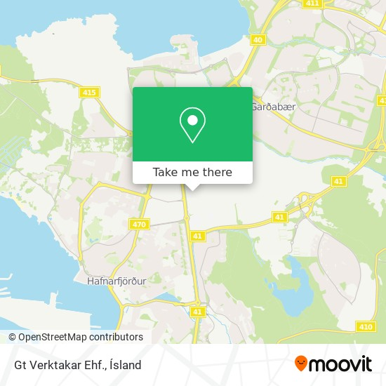 Gt Verktakar Ehf. map