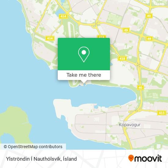 Ylströndin Í Nauthólsvík map