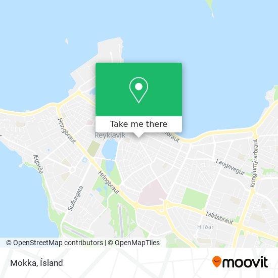 Mokka map