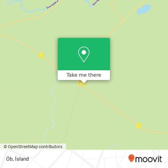Ób map